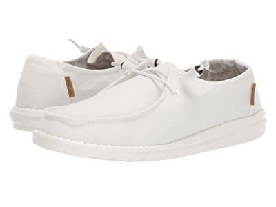 Hey Dude Wendy Chambray (White) Women