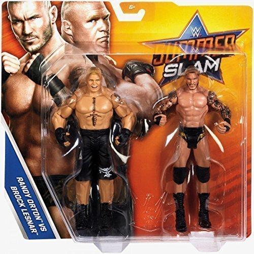 Wrestling WWE SummerSlam PPV Battle Pack Serie 2017 Acción Figuras - Brock Lesnar VS Randy Orton - The Beast VS The Viper: Amazon.es: Juguetes y juegos