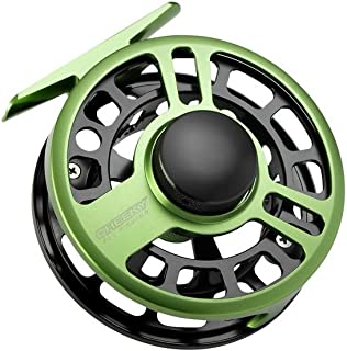 Cheeky Fishing, Boost 325 Fly Fishing Reel, 2-4lb Line Weight, Green/Black