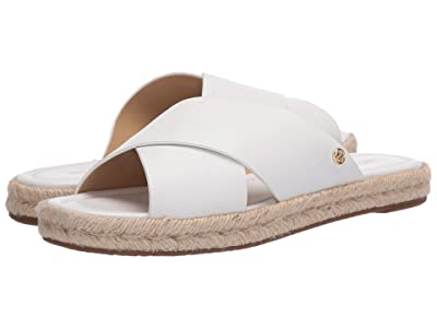 MICHAEL Michael Kors Linden Slide (Optic White) Women