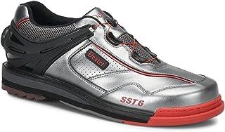Dexter 男式 SST 6 混合 BOA 保龄球鞋 右手 - 灰色/黑色/红色