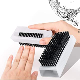 Enshey 3pcs Surgical scrub brush Non-Disposable sterile sponge scrubber with Nail Cleaner Hand and Nail Brush Double-sided Cleaning Scrub Brush