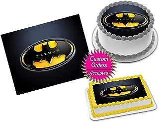 Batman Edible Image Icing Frosting Sheet #51 Cake Cupcake Cookie Topper Sugar Sheet (8
