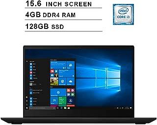 Lenovo 2019 Premium Ideapad S340 15.6 Inch HD Laptop (Intel Dual Core i3-8145U up to 3.9 GHz, 4GB RAM, 128GB SSD, Intel UHD Graphics 620, WiFi, Bluetooth, HDMI, Windows 10) (Black)