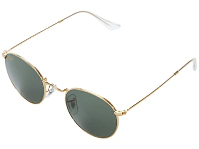Ray-Ban 47 mm RB3447 Round Metal Sunglasses