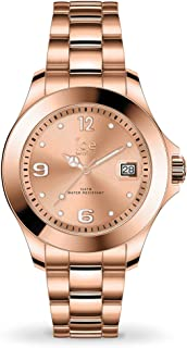 Ice-Watch - Ice Steel Rose-Gold - Montre Rose-Gold pour Femme avec Bracelet en Metal - 017321 (Small)