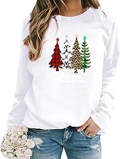 Pull de Noel Sapin Femmes Pull Noël Femme Grande Taille Ugly Christmas Jumper Pull Moche Noel Femme Drole Pullover Moche S...