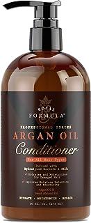 Royal Formula - Acondicionador de pelo de aceite de argán [sin sulfato ni parabenos] Tratamiento para cabello seco, dañado y tratado con color – seguro para tratamientos de queratina – para todos los tipos de cabello, 16