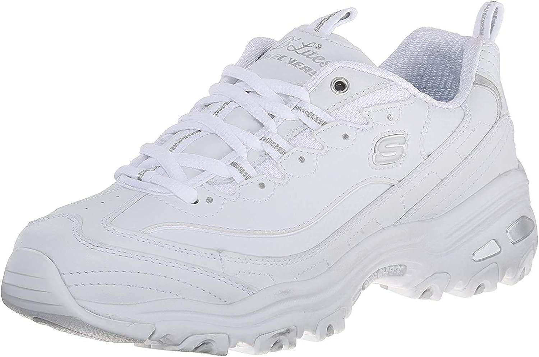 Skechers Women's 40% OFF Cheap Sale D'Lites Max 50% OFF Memory Sneaker Foam Lace-up