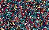 Papel pintado moderno del arte abstracto del patrón dibujado a mano para el mural de la decoración de la pared de la sala Pared Pintado Papel tapiz 3D dormitorio de estar sala sofá mural-430cm×300cm