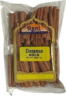 Rani Cinnamon Sticks 7oz (200g) ~ 22-26 Sticks 3 Inches in Length Cassia Round ~ All Natural   Vegan   No Colors   Gluten Free Ingredients   NON-GMO