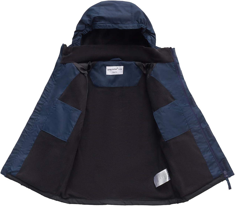 YINGJIELIDE Boys Rain Jacket Kids Waterproof Raincoat Lig Max 74% OFF Hooded Popular standard
