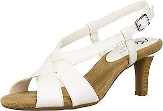 A2 by Aerosoles Women's PASSCODE Sandal, WHITE, 7.5 M US