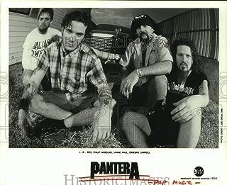 Vintage Photos 1996 Press Photo Pop Music Group Pantera - hca67136