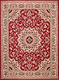 Carpeto Rugs Tapis Salon Rouge 160 x 220 cm Oriental/Verona Collection