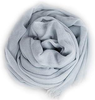 il cuore puro ストール 春 カシミヤ100% 一年中使える 体調管理 ストール 大判 カシミヤストール 公的機関証明済 ストール 夏 ストール 春夏 プレゼントに喜ばれる(アイボリー )