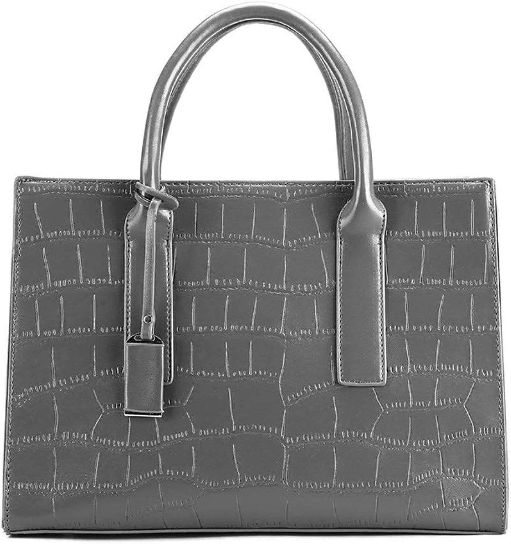e99c0313e2246 ZLULU Damen-Schultertaschen Damenhandtaschen Eine Schulter Tragbare Handtasche  Handtasche Handtasche Mit Gro szlig er Kapazit auml t B07KWJH8X4 Stilvoll  und ...