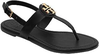 ef1d9f71e9d Tory Burch Bryce Flat Thong Sandal Veg Leather