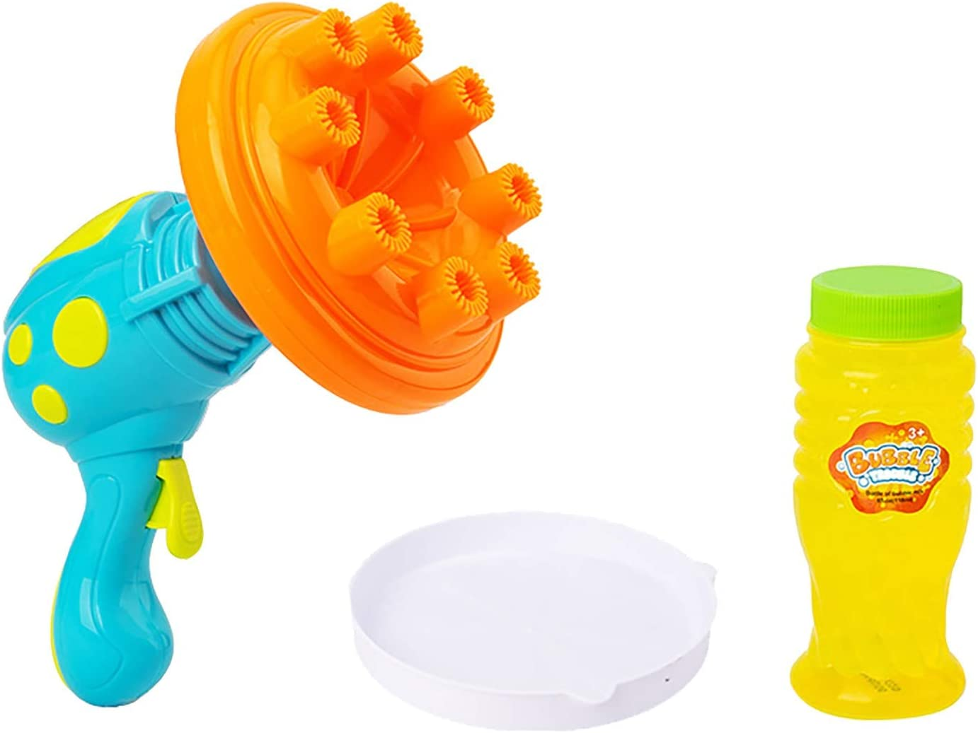 Kids Bubble Maker Machine Bubbl National uniform Lowest price challenge free shipping Battery-Operated 8-Holes
