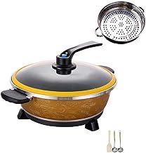 AJH Barbecue Hot Pot Hot Pot/Pan Barbecue Électrique/Multi-Fonction One-Pot Multi-Purpose 8L, Ménage Maifan Pierre Cuisson...