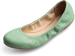 Best green suede flat sandals Reviews