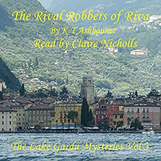 The Rival Robbers of Riva audiobook cover art