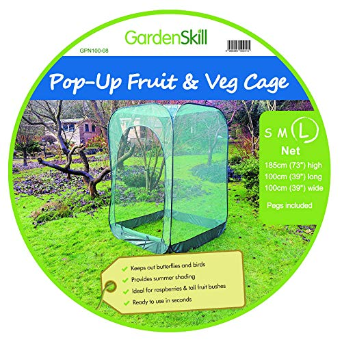 GardenSkill Pop Up Fruit Cage and Grow-House