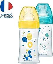 Dodie Biberon Sensation Fushia Flamant T/étine Plate D/ébit 1 150 ml 0-6 Mois