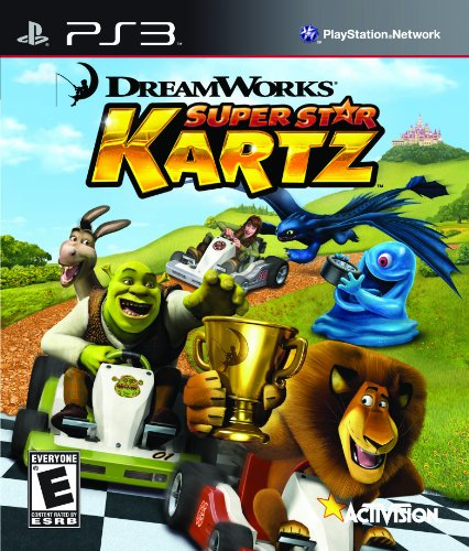Activision DreamWorks Super Star Kartz, PS3 PlayStation 3 Inglese videogioco