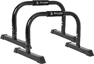 VIGBODY Dip Bar Push Up Stand Dip Station Parallette Bar Upper Body Exercise Equipment Workout Handstand Bars