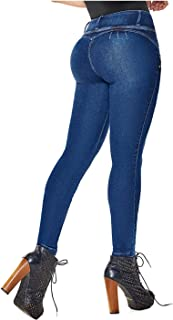 DRAXY 1336 Colombian Butt Skinny Jeans for Women | Pantalones Colombianos