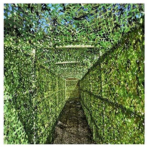 Qjifangzyp Gartentarnnetz, 2mx3m Sonnenschutznetz Oxford Green Markise Balkon Sichtschutz Wanddekoration Autoplanenabdeckung Jagdfotografie (Size : 3 * 4m(10 * 13ft))