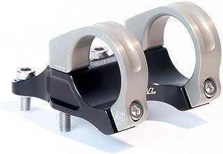 Renthal Integra 35 Bicycle Stem - Clamp: 35mm , L: 50mm, Steerer: Direct Mount, 10�, Black/Gold - STM116-BKAG