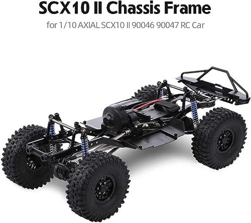 ETbotu Rahmen Chassis,313mm 12,3 Radstand zusammengebautes für 1 10 SCX10 SCX10 II 90046 90047 Mit R rn