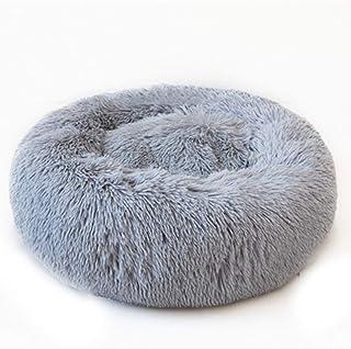 Sista & Bro Petshop Coussin Chat/Chien - Panier Rond Donut Moelleux - Lit pour Chat Chien Confortable Extra Doux Lavable -...