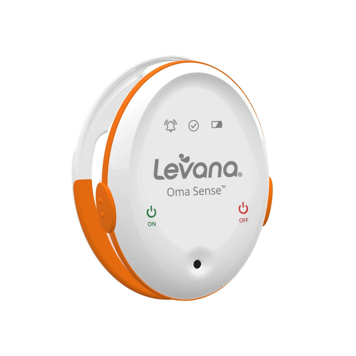 Levana Oma Sense Baby Breathing Movement Monitor - Baby Sleep Monitor with Wakeup Technology - Rousing Vibrations, Audio & Lights Stimulates Baby & Alerts Parents - Safety Baby Essentials for Newborn