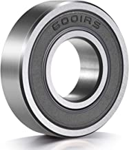 10 Pack 6001-2RS Deep Groove Ball Bearings, 12x28x8 mm Miniature Bearings, Double Rubber Sealed and Pre-Lubricated, 6001-rs