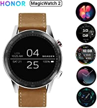 HONOR Magic Watch 2 (46mm, Flax Brown) 14-Days Battery, SpO2, BT Calling & Music Playback, AMOLED Touch Screen, Personaliz...