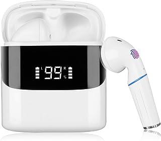 Auriculares Deportivos inalámbricos Sendowtek Auriculares Bluetooth, el Control táctil del micrófono es Resistente al Agua...