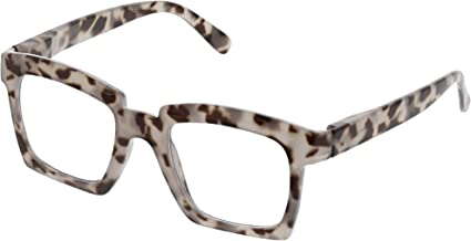 Peepers Women's Standing Ovation - Gray Tortoise 2522175 Square Reading Glasses, Gray Tortoise, 1.75