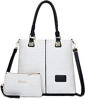 BUKESIYI Damen Tasche Umhängetasche Handtasche Frauen Klein Schultertasche Weekender Lack PU Leder CCDE77502