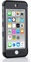 iPod Touch 7th Generation case, 6th Generation Cases, Protective Case for iPod Touch 5 6 7 Gen Bumper Accessories (Space Gray)