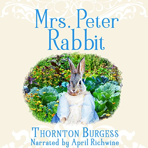 Mrs. Peter Rabbit audiobook cover art