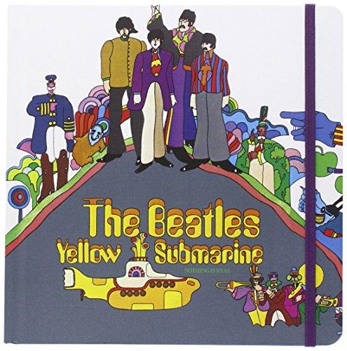 Rock Off The Beatles Notebook: Submarino Amarillo (Espalda Dura)