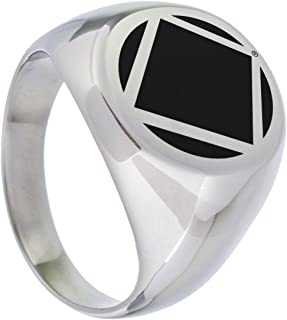 NA Narcotics Anonymous Ring for Men