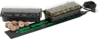 Hydrofarm JumpStart JS6120 Windowsill Seed Starting Heat Mat and Tray Kit