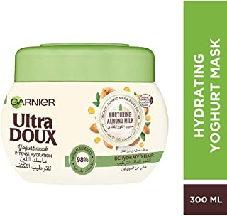 Garnier Ultra Doux Hydrating Mask With Almond Milk & Agave Nectar, 300 ml