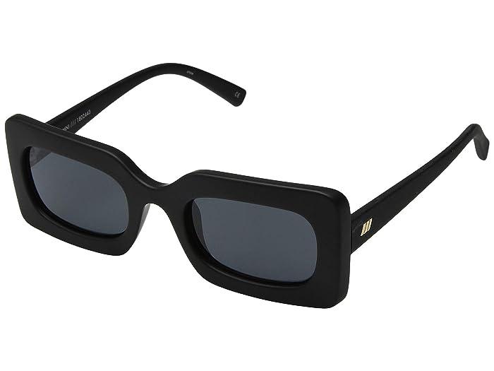Le Specs Damn! (Matte Black) Fashion Sunglasses