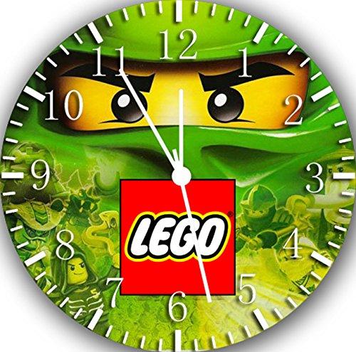 Frameless Clock Ninja Ninjago rahmenlose Wanduhr W460 Nizza Geschenk oder Zimmer Wanddeko