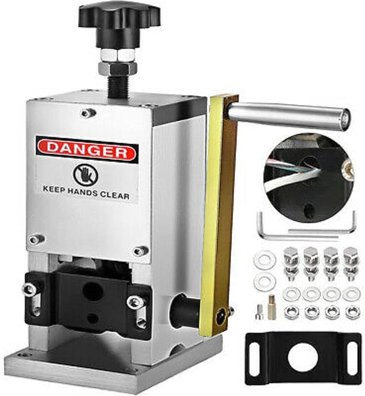 Máquina de soldador Cable de alambre Stripper Stripping Herramienta de mano Máquina de pelado de cobre para 1,5-25mm Strip Scrap de alambre de cobre SD-25 Para soldadura trabajando y trabajando eléctr